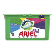 Капсули за пране Ariel All in 1 pods Color, 39бр.