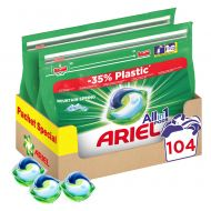 Капсули Ariel All in One PODS Mountain Spring, 2x52 броя, 104 изпирания