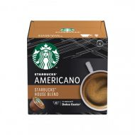 Кафе капсули STARBUCKS Medium House Blend, съвместими с NESCAFÉ® DOLCE GUSTO, 12бр.